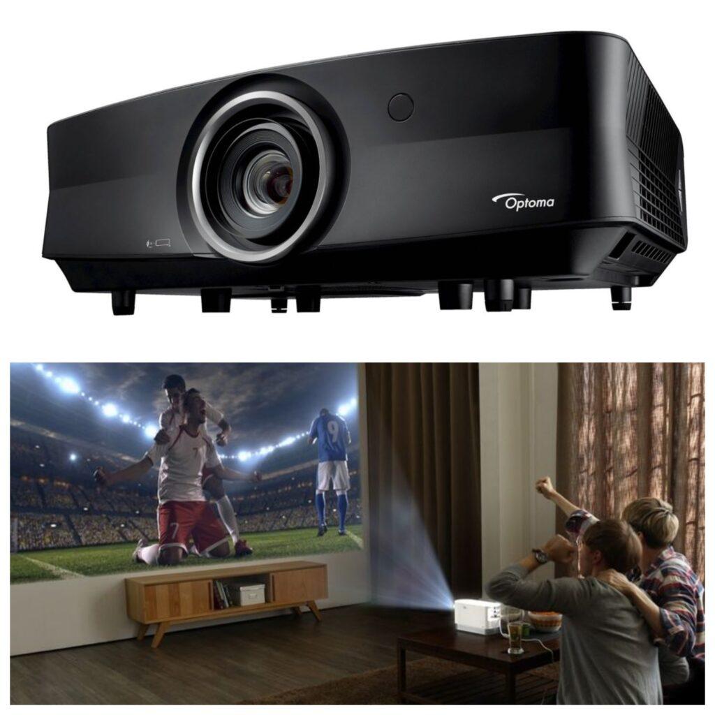 Лазерный проектор и экран